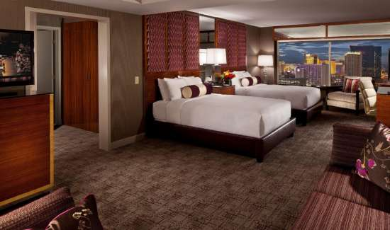 mgm grand hotel rooms executive queen interior bedroom city view 2x